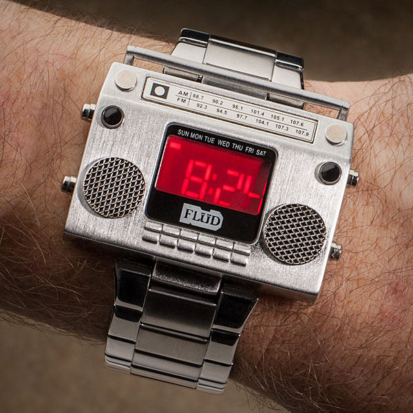 Boombox Metal Wristwatch