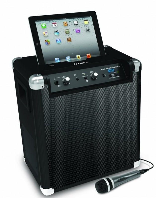 ION Audio IPA56 Block Rocker Bluetooth Wireless Portable Sound System