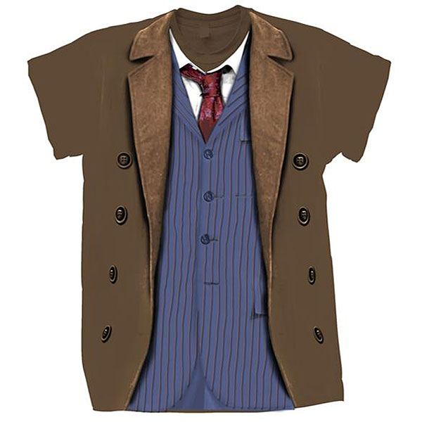 10th Doctor Costume Tee