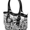 Star Wars Womens Checker Handbag Purse with Bow