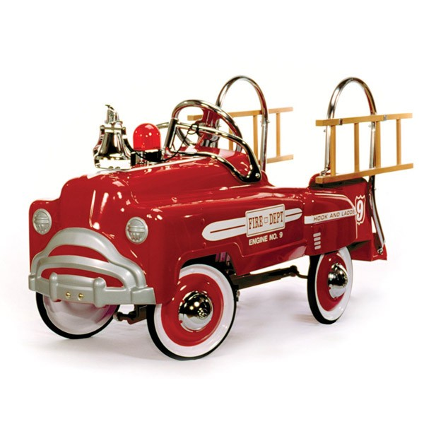 American Retro Deluxe Red Fire Truck