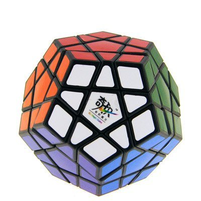 Puzzle Cube Sticker Black