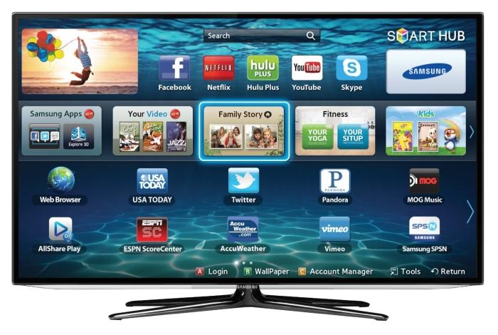 Samsung UN60ES6100 60-Inch 1080p 240 Clear Motion Rate Slim LED HDTV