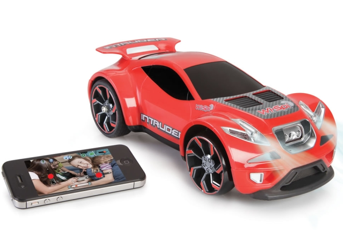 The Smartphone Directed Video Spy Car
