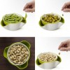 Combo fruit dish dried fruit plate candy dish random color