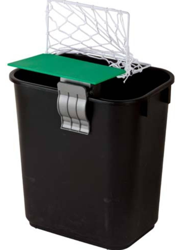 Cheering Football/soccer Net for Trash Bin/garbage Can