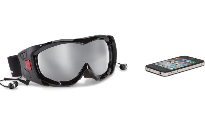The Voice Communicating Ski Goggles