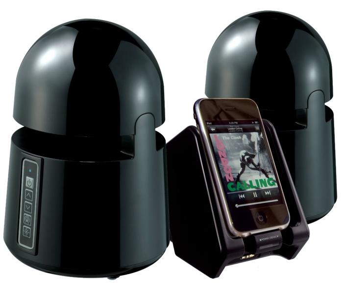 Grace Digital Audio Mini-Bullets II - Weatherproof Wireless Speakers