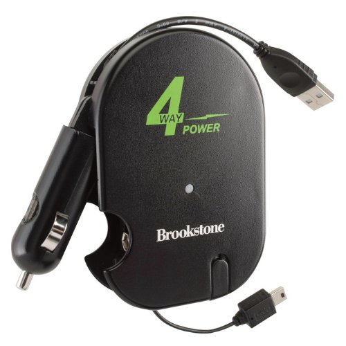4-Way Power Charger for Portable Devices