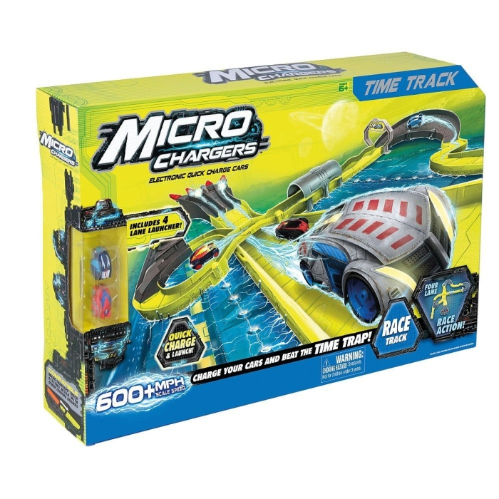 Micro Charger Track Time Race Track with 2 Cars