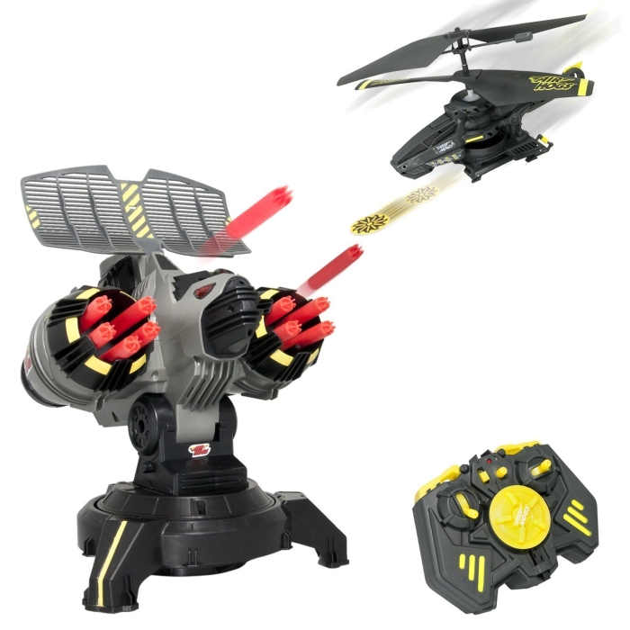 Battle Tracker Elite with Yellow Disc Firing Helicopter