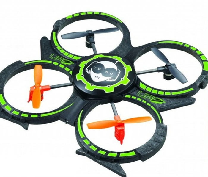 4 Ch Mini Rc 4 Axis UFO Aircraft Quadcopter RTF