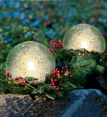 Ice Globe Candle Lantern Kit