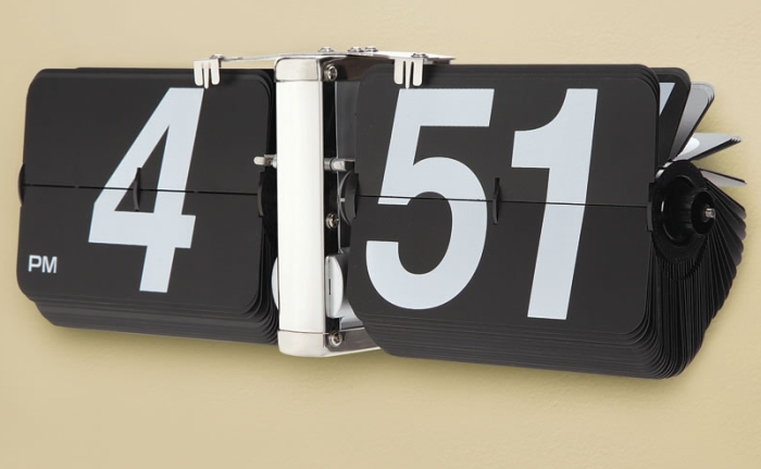 The Giant Flip Clock
