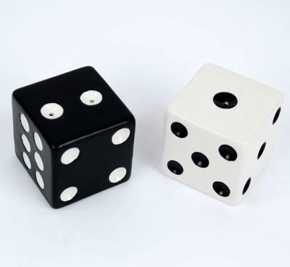 Dice Salt & Pepper Shaker Set