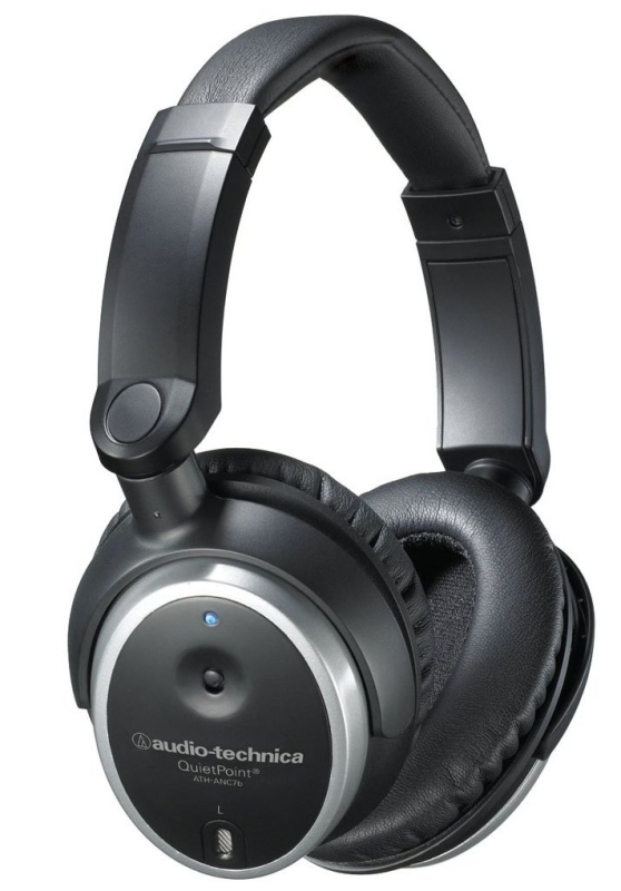 Audio Technica ATH-ANC7B Active Noise-Cancelling Closed-Back Headphones