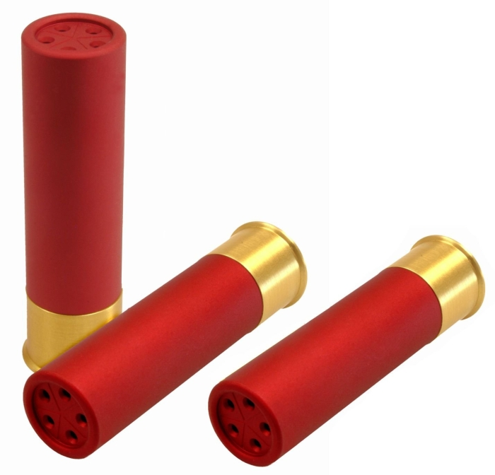 Shotgun Shell Salt, Pepper W/ Toothpick Holder