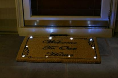 CocoMatsNMore Magic L.E.D Doormat Classic Welcome