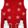 Lighted Winter Wonderland Sweater Vest with LED Lights