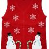 Lighted Winter Wonderland Sweater Vest with LED Lights