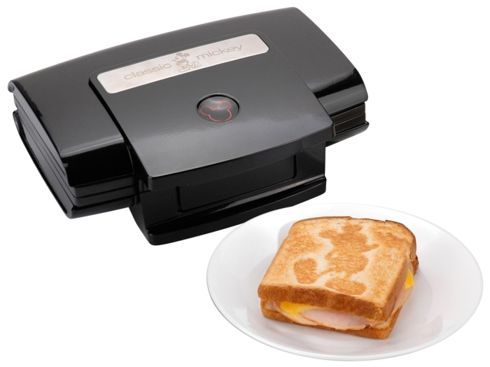 Classic Mickey 2-Slice Sandwich Maker