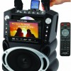 Karaoke USA Karaoke System with 7-Inch TFT Color Screen