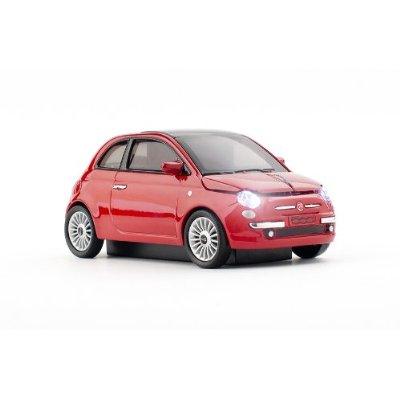 Fiat 500 New Optical Wireless Mouse