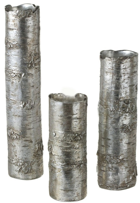 Antique Silver Branch Vase