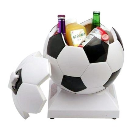 Cooler / Warmer / Mini Refrigerator for Dorm / Home / Car / Office, Football-shaped