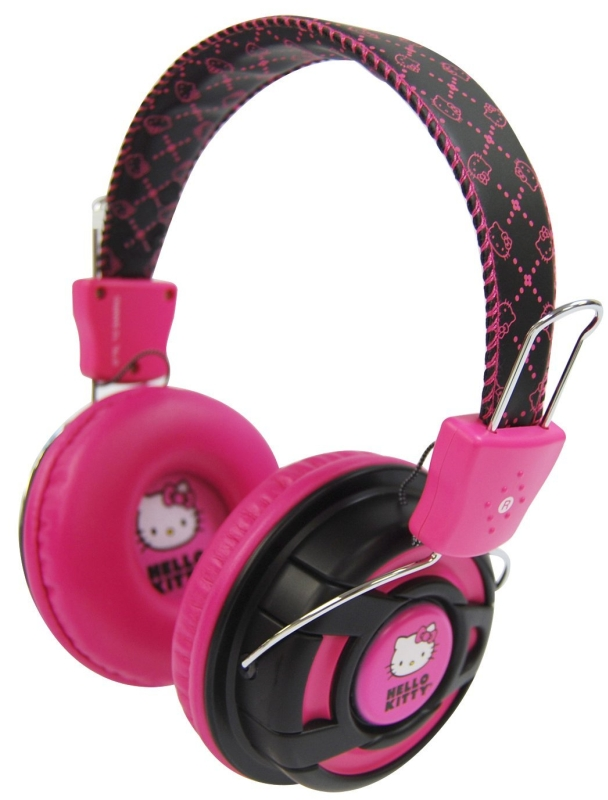 Hello Kitty Over the Ear Foldable Stereo Headphones