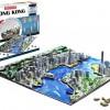 Amazon.com  4D Cityscape Hong Kong Skyline Puzzle - MAIN