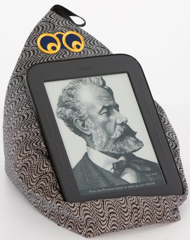 Amazon.com  The Kindle Stand With Personality by Book Beanie in 'Techie' (Fits Tablets Too. View More Fabrics) - MAIN