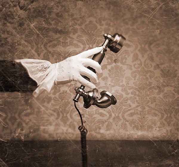Victorian Retro Phone Handset