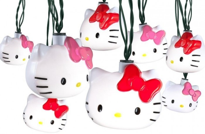 Hello Kitty Christmas Dancing Lights