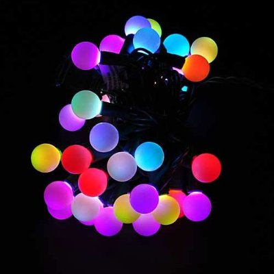 Color Changing LED RGB Ball String Christmas