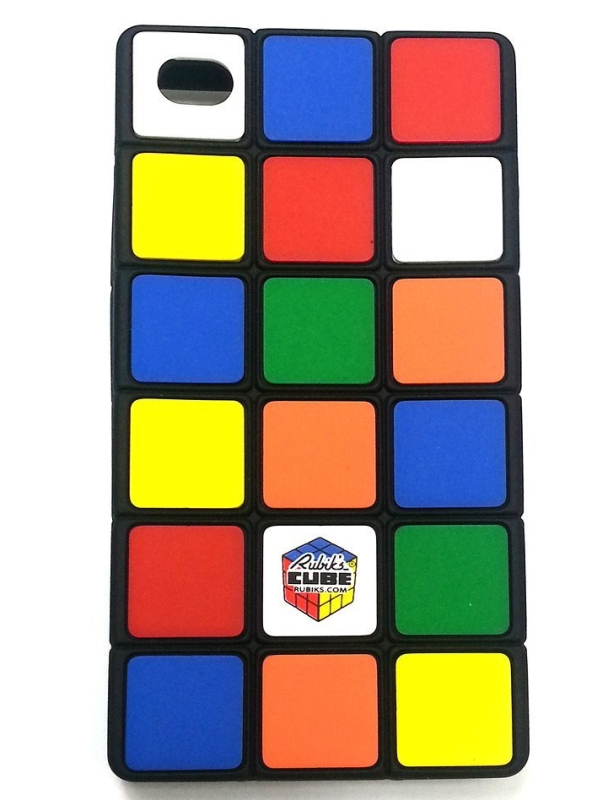 Amazon.com  Genuine Rubik's Cube Iphone 4 & 4S Case - MAIN