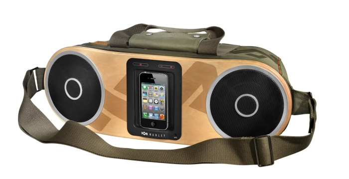 Amazon.com  House of Marley Bag of Rhythm Portable Audio System for iPod and iPhone - MAIN