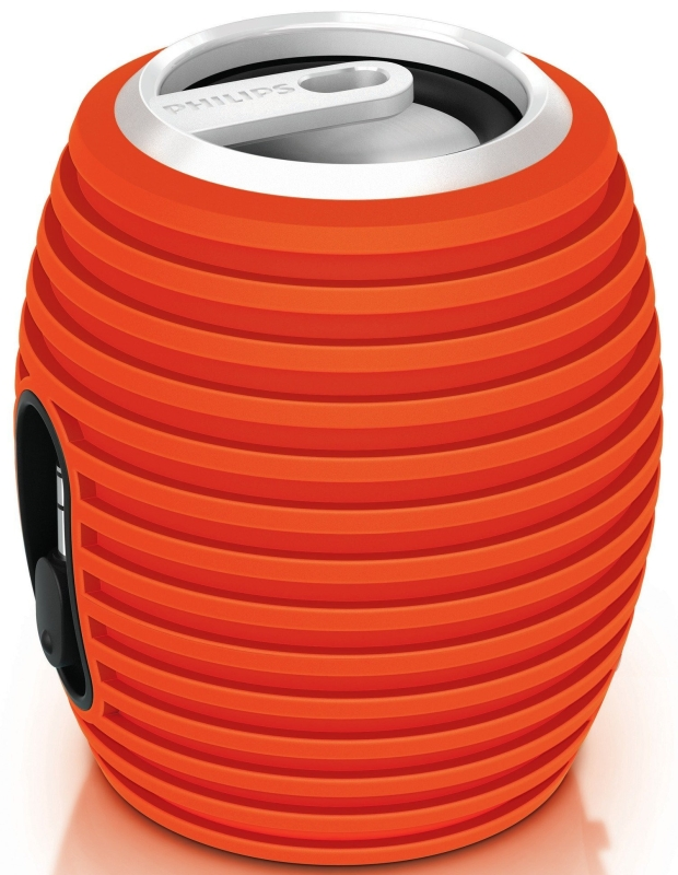 Amazon.com  Philips SBA3010_37 SoundShooter Portable Speaker (Orange) - MAIN