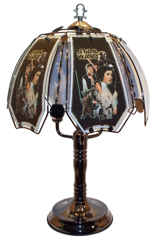 Amazon.com  Star Wars Touch Lamp - MAIN