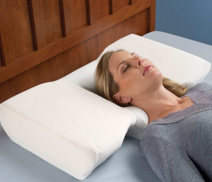 The Neck Pain Relieving Pillow 7 Gadgets