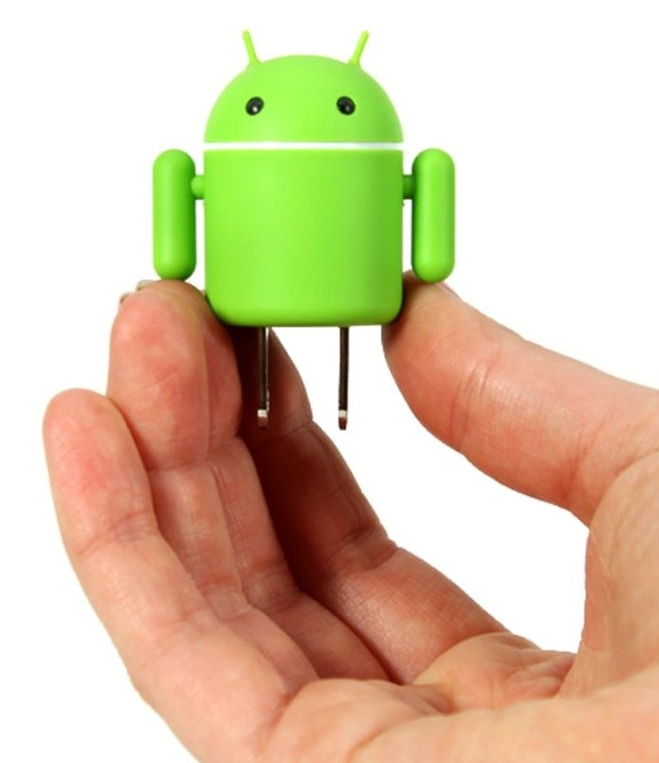 Best Kitchen Design App For Android: Android Robot USB Cell Phone Travel Charger