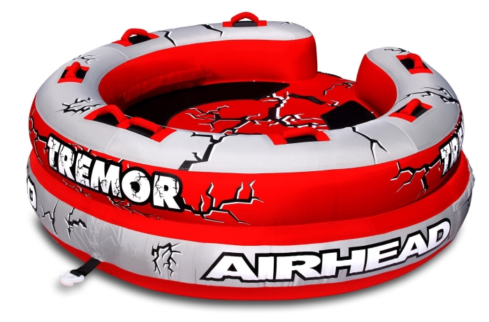 Airhead AHTM-4 Tremor 1-4 Person Towable Tube   Amazon.com   Automotive - MAIN