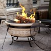 Amazon.com  Angel Wings Magnesia Fire Pit 30 Inch - MAIN