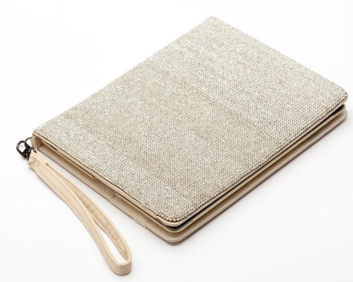 Amazon.com  Newsh Bling Bling Inlay Swarovski Element Crystal Stand Leather Case for Ipad 2 Ipad 3 New ipad White - MAIN