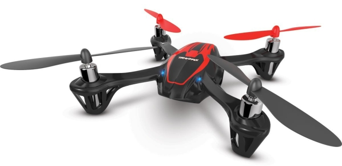 Amazon.com  Traxxas QR-1 Quad-Rotor Ready-To-Fly Helicopter - SIDE