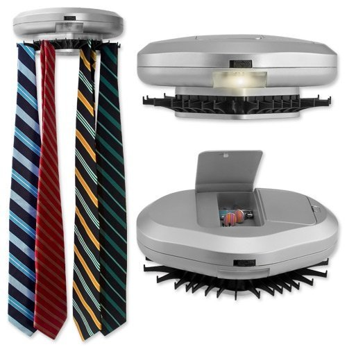 Electronic tie rack wall mounted tie organizer for Motorized tie racks for closets