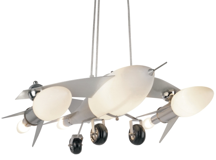 Trans Globe Lighting KDL-852 Fighter Jet Airplane Drop Pendant - Amazon.com - MAIN