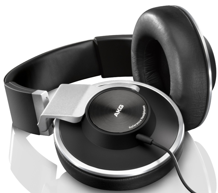 Amazon.com  AKG K551 Closed-Back Reference Class Headset with Mic (Black_Silver) - MAIN