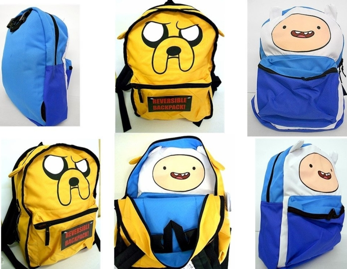 Amazon.com  Adventure Time Finn_Jake Reversible Backpack - MAIN