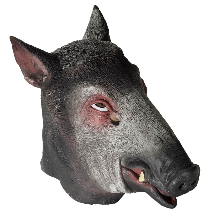 69498-Deluxe-Latex-Wild-Boar-Mask-large